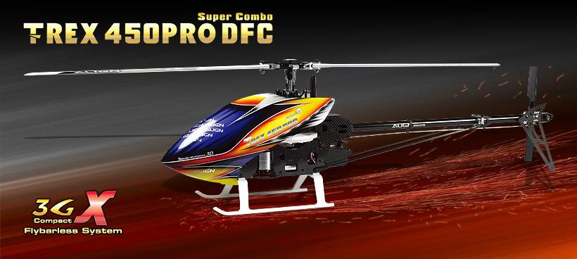 T-REX 450PRO DFC
