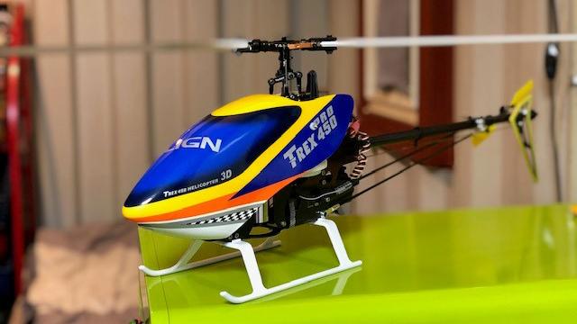 T-REX450FBL