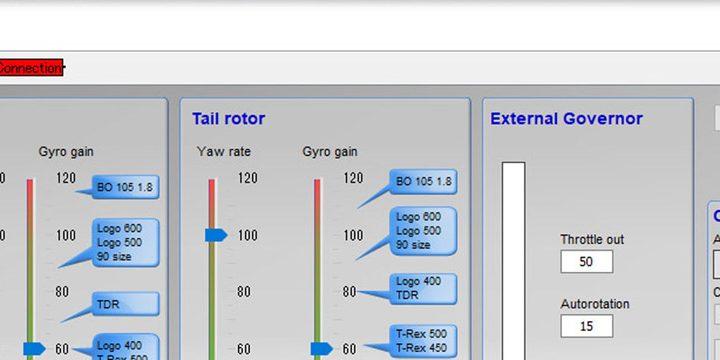 VBar NEO 6.3 Express × FUTABA T16IZ S-BUS × T-REX470LM 実装メモ1